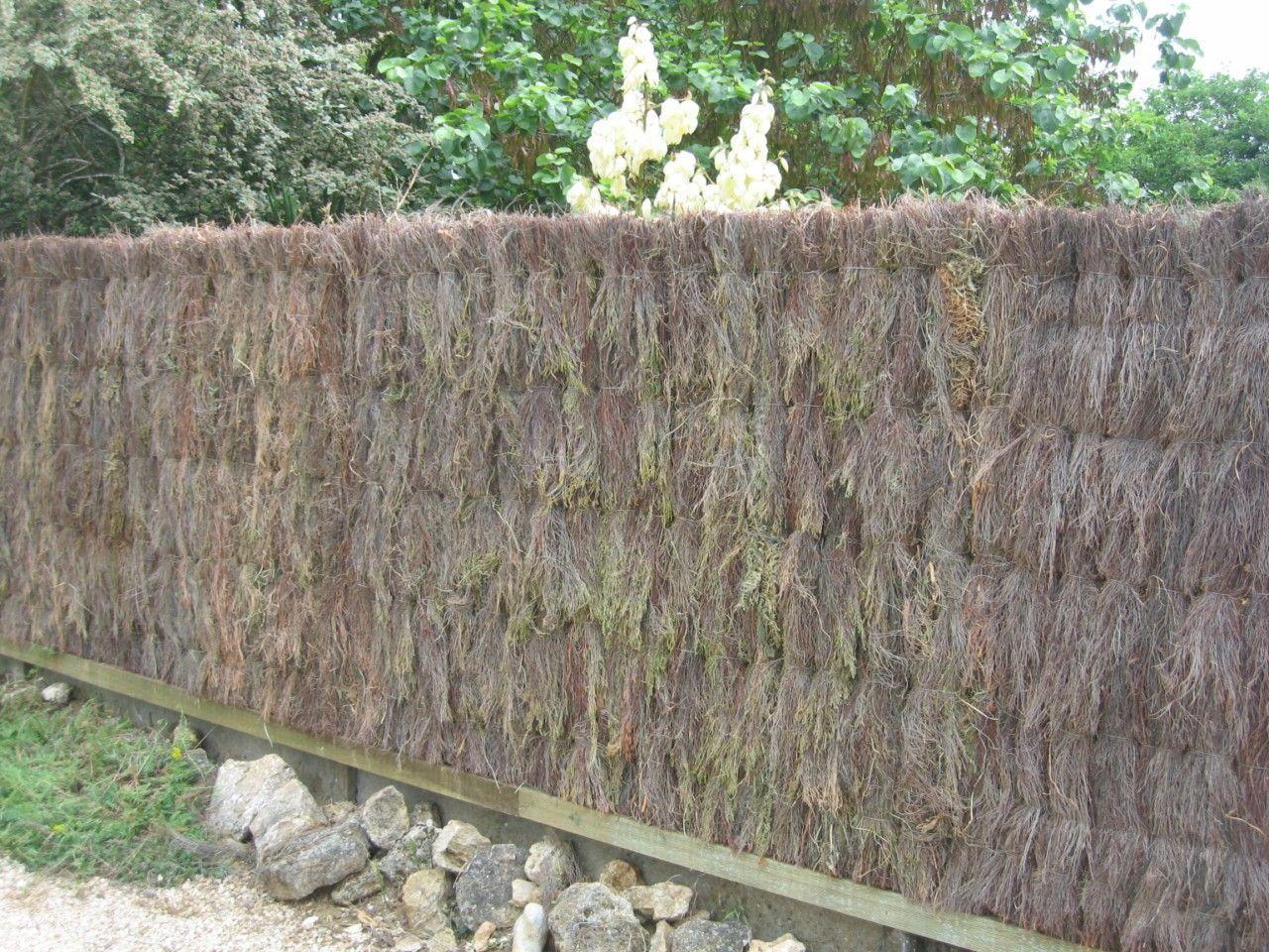 brande de bruy re paisse en panneaux d co jardin. Black Bedroom Furniture Sets. Home Design Ideas