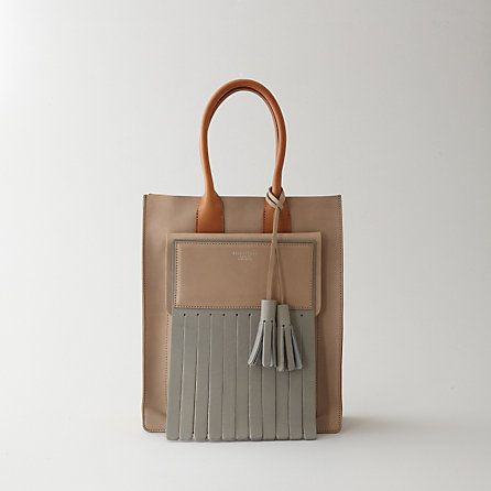 ++ piers tassel tote bag Why am I a sucker for leather fringe? I want this bag right now!