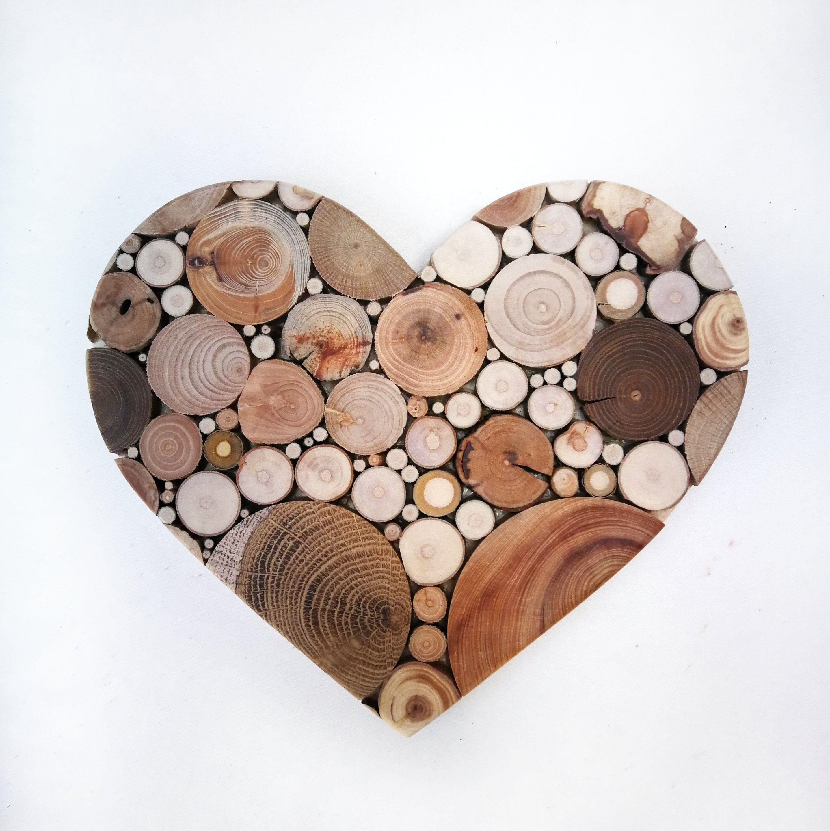 Bedroomdecor Wood Heart Mosaic Unique Wedding Gift For Couple Small 3d Wood Wall Art Wooden Heart Decor Couple In 2020 Wood Hearts Heart Decorations Wooden Hearts