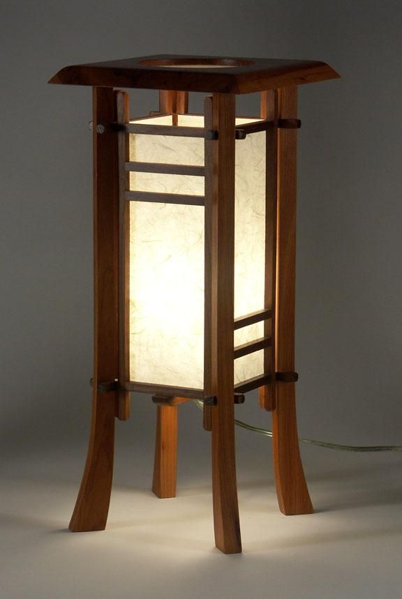 Cherry Street Japanese Style Table Lamp Asian Lamps Japanese