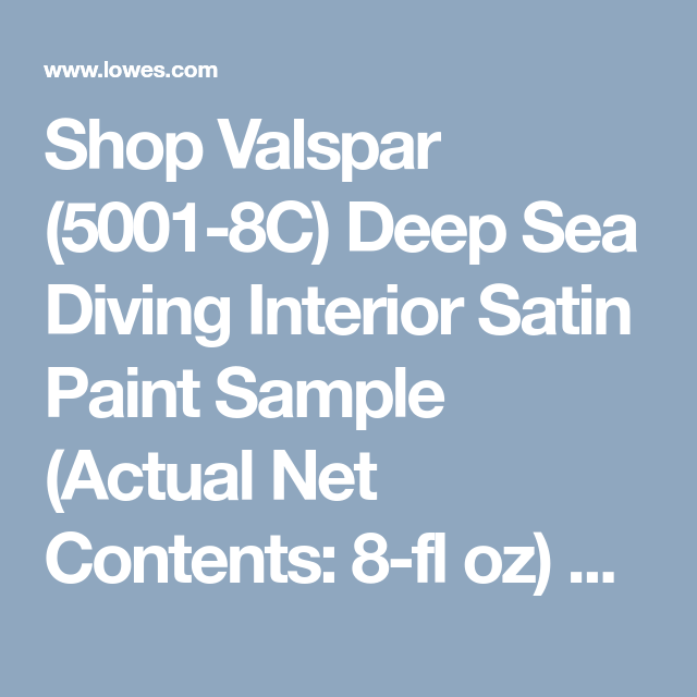 shop valspar 5001 8c deep sea diving interior satin on valspar paint visualizer interior id=58760