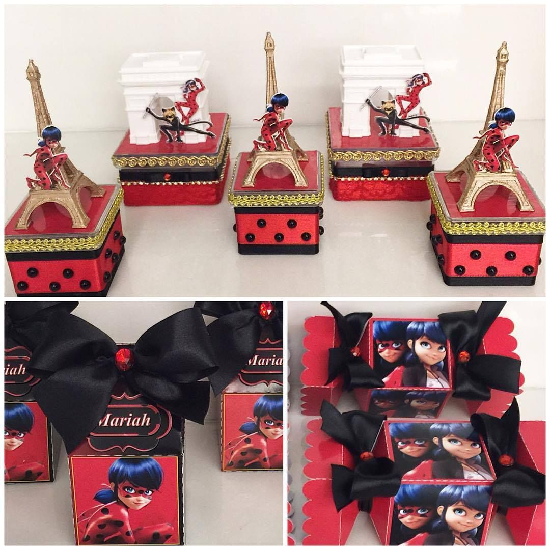 Ideas para decorar fiesta infantil de miraculous o ladybug for Decoracion 30 cumpleanos