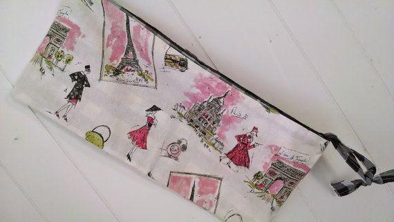 Parisian Vintage Fashion Storage Bag crib/changing by CindyJaine, $25.00
