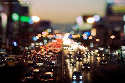 Busy City Night City Photography Pretty Night Photography Art
