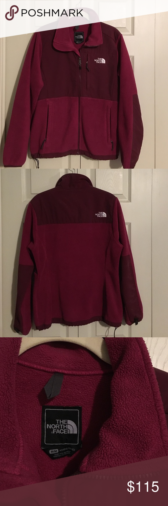 Burgundy Denali Jacket Medium Burgundy Authentic North Face Denali Jacket Barely Worn And In Perfect Condit Clothes Design Fashion Design Fashion Trends [ 1740 x 580 Pixel ]