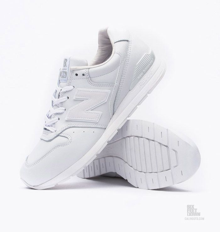 all white new balance 996