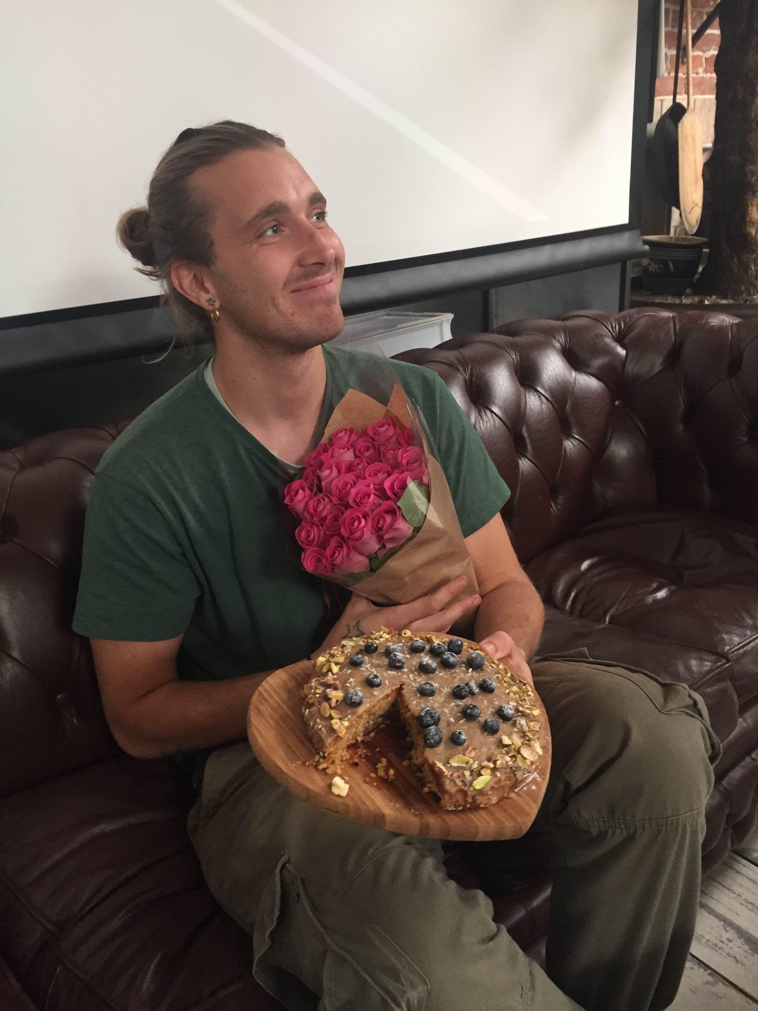 """Dan our """"Best tasting cake' winner!"""