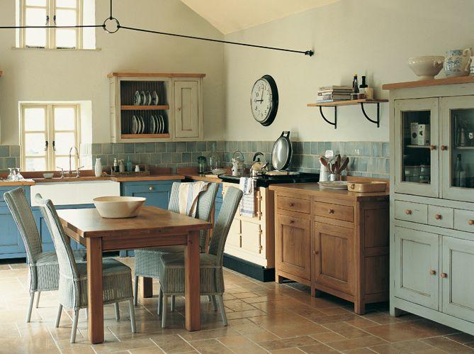 Cuisines Style Campagne Kitchens Pinterest Cuisine - Cuisiniere bois pour idees de deco de cuisine