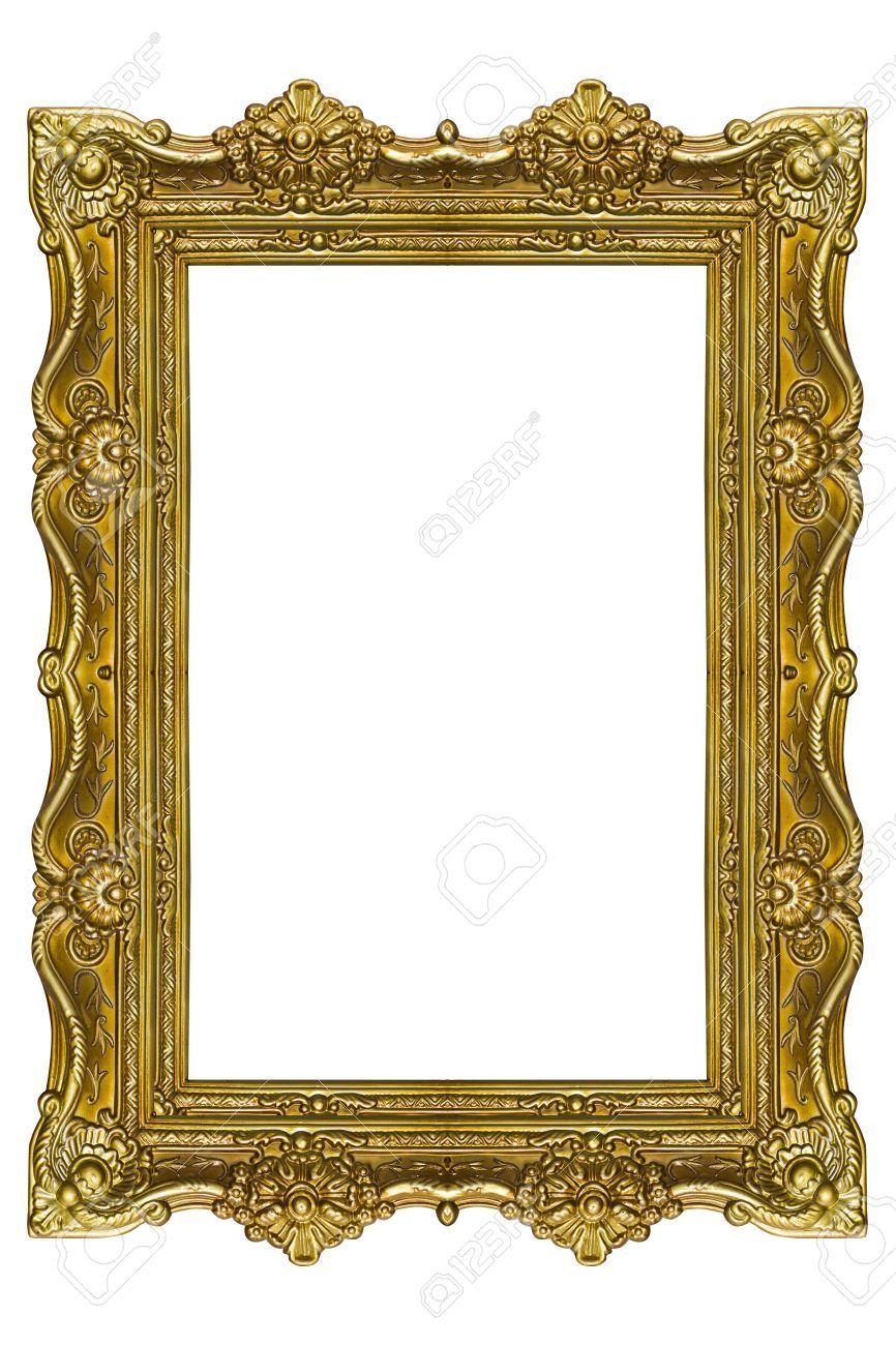 Stock Photo Vintage Frames Frame Gold Picture Frames
