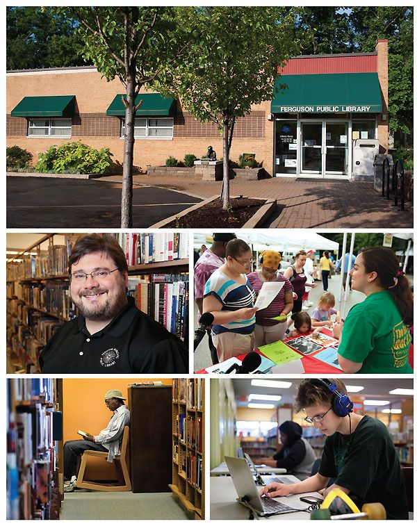 2015 Gale/LJ Library of the Year: Ferguson Municipal Public Library, MO, Courage in Crisis