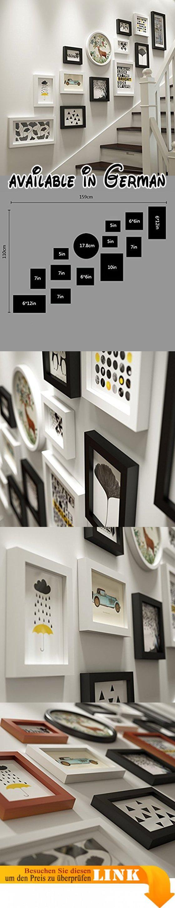 U0026 Wandmontage Design Moderne Massivholz Bilderrahmen Wand Sets Von 13,  Hängen Bilderrahmen Wand Wohnzimmer Schlafzimmer Kombination Bilderrahmen  Wau2026