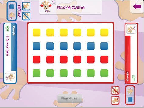 Fingster (2.99) [Like Twister for fingers] Spin the