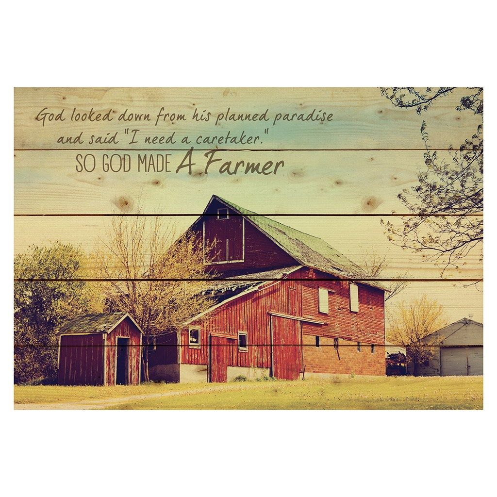 God Made a Farmer\