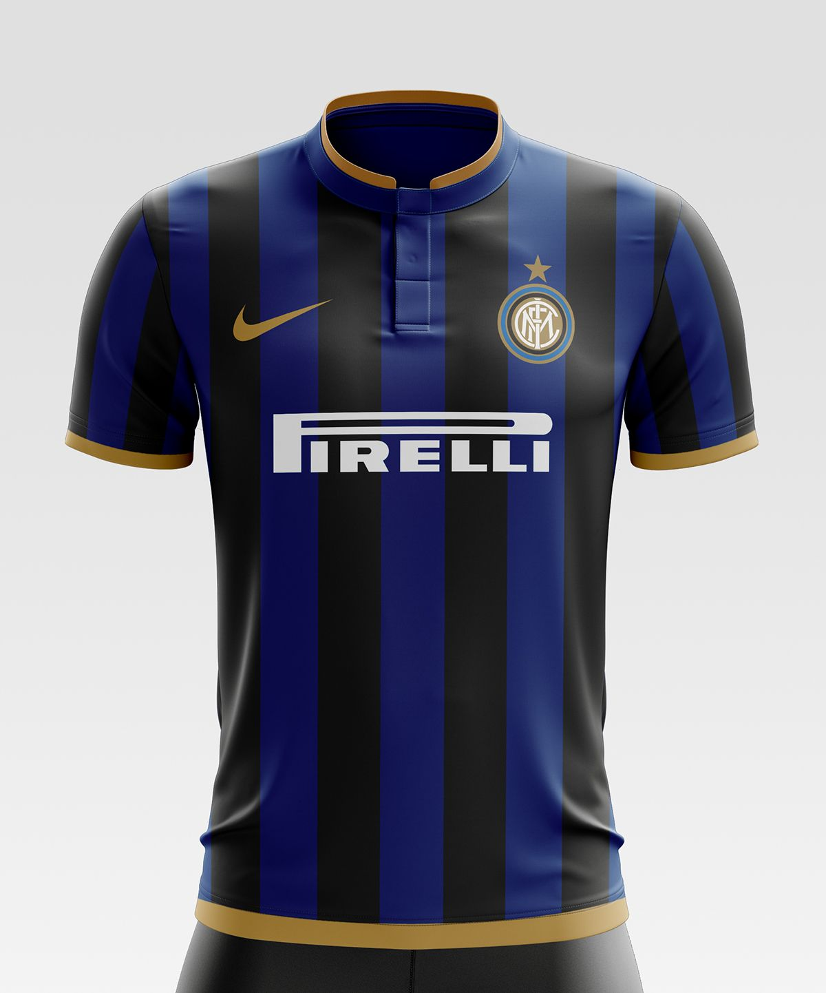 c6b76a48ee3 Inter Milan Football Kit 17 18. on Behance