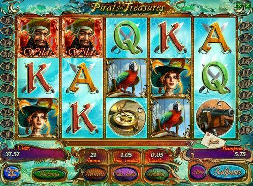 Pelaa Pirates Treasures HD hedelmäpeli oikealla rahalla. Online hedelmäpeli Pirates Treasures HD kertoo seikkailuista intrepid corsairit kyntö meret etsimään aarretta. Tämän laitteen avulla voit saada antelias rahapalkintoja ansiosta bonuksia ja erikoismerkkejä. Siksi Pirates Treasure hedelmäpeli HD kannattavaa pelata oikealla rahalla, rikastuvat jonka m