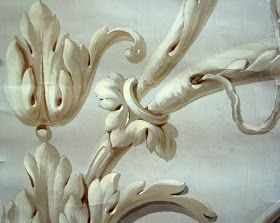 surface fragments: Grisaille Ornamentation | Роспись стен ...