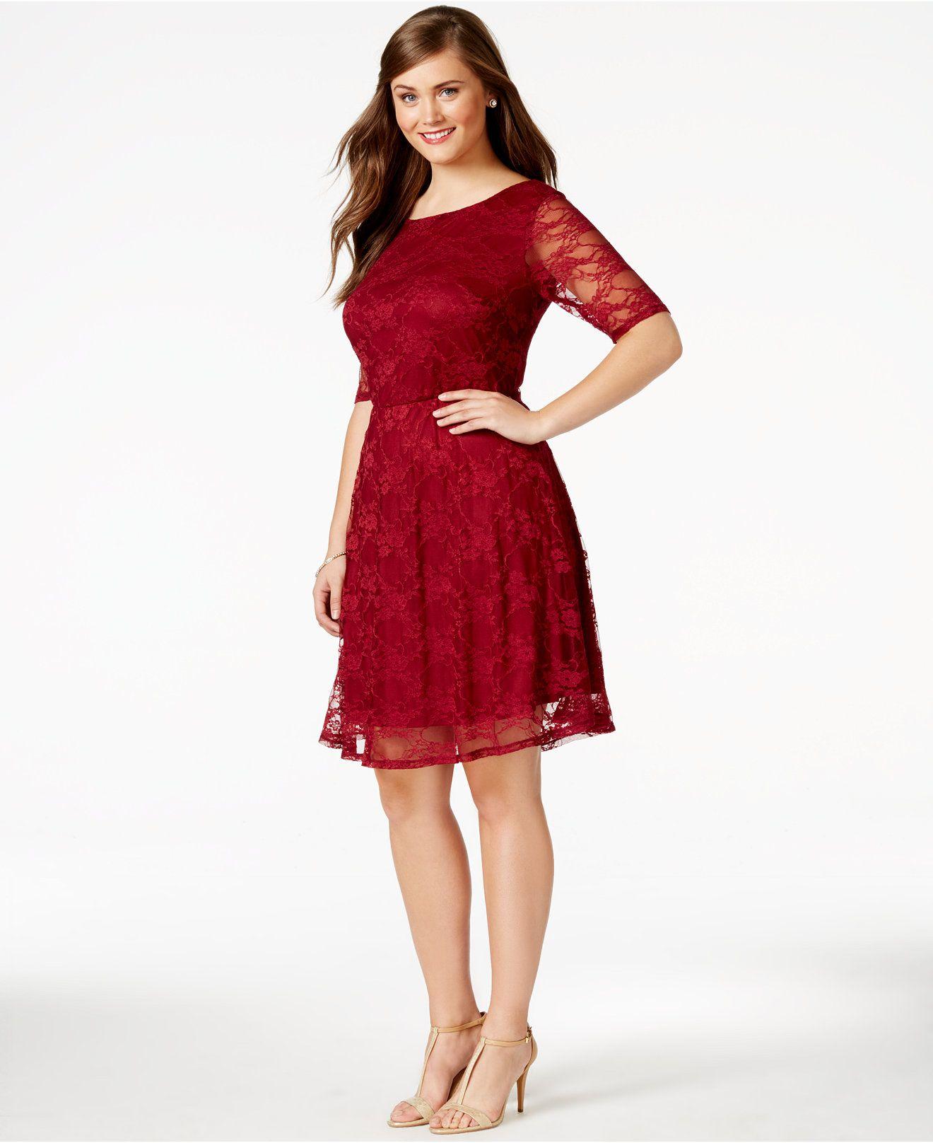 Love squared plus size lace aline dress dresses plus sizes