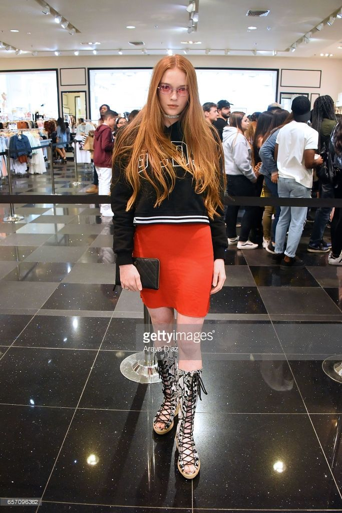Larsen Thompson attends the Forever 21 Presents: Justine Skye Live event at F21 XXI on March 23, 2017 in Glendale, California.