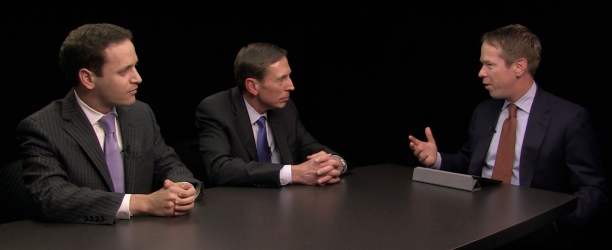 Former Gen. David Petraeus and Vance Serchuk from KKR discuss North America's position in geopolitics.