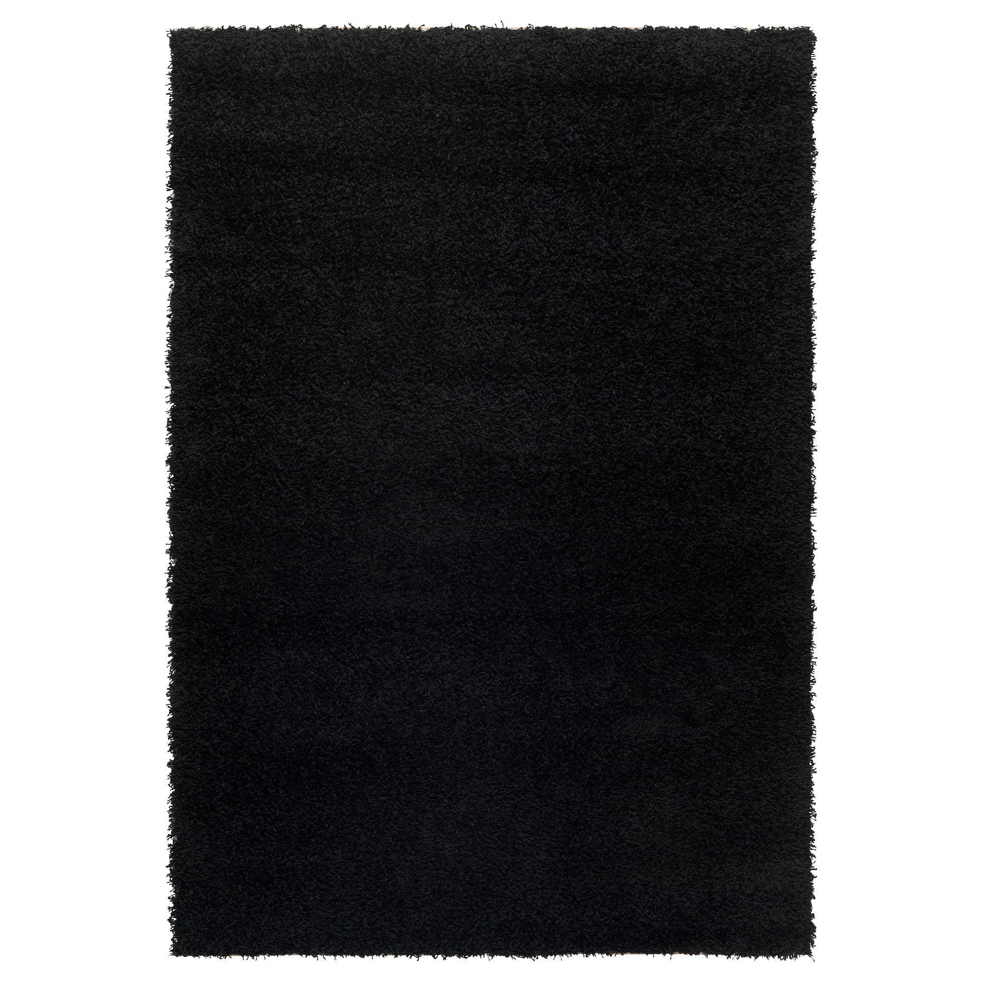 furniture and home furnishings ikea tapis noir tapis. Black Bedroom Furniture Sets. Home Design Ideas