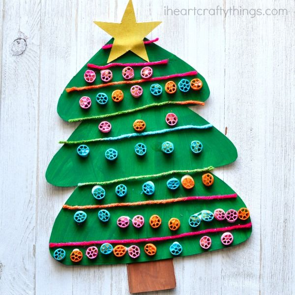 Top 40 Easy And Fun Christmas Crafts For Kids to Make Craft