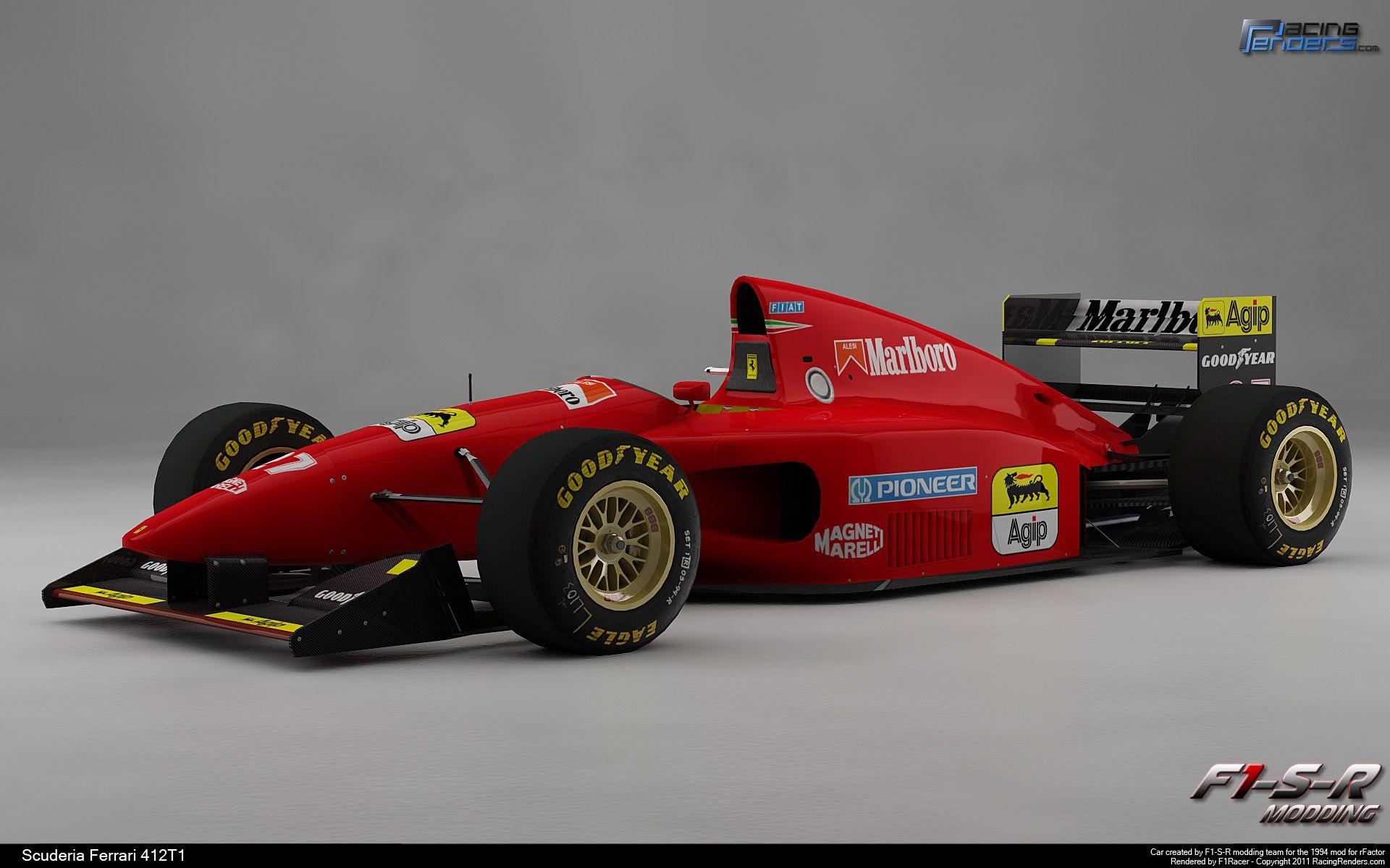 Ferrari f1 412t1 11