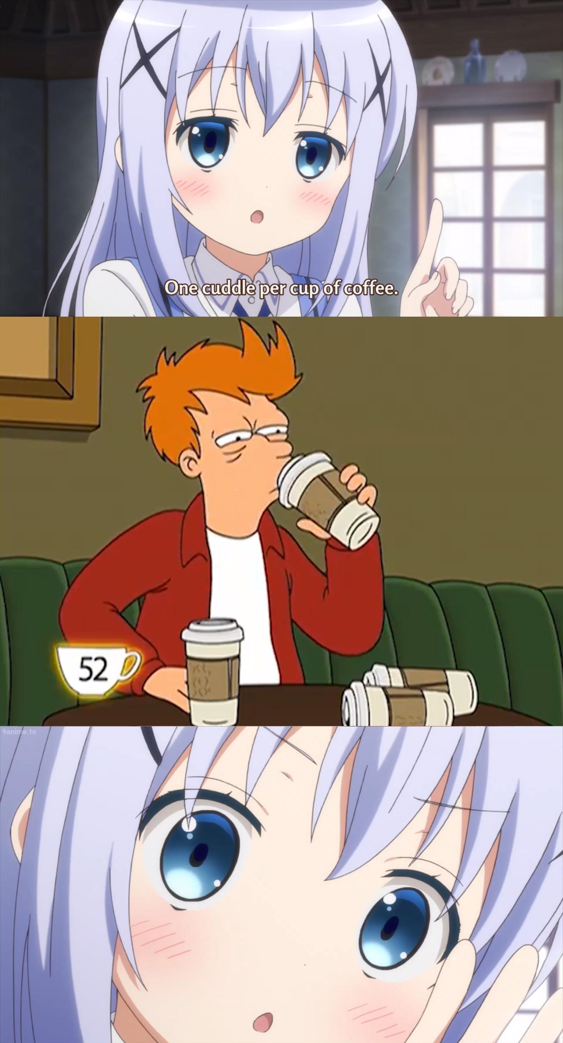 15 cuddles please ... animememes animememe anime   Anime funny ...