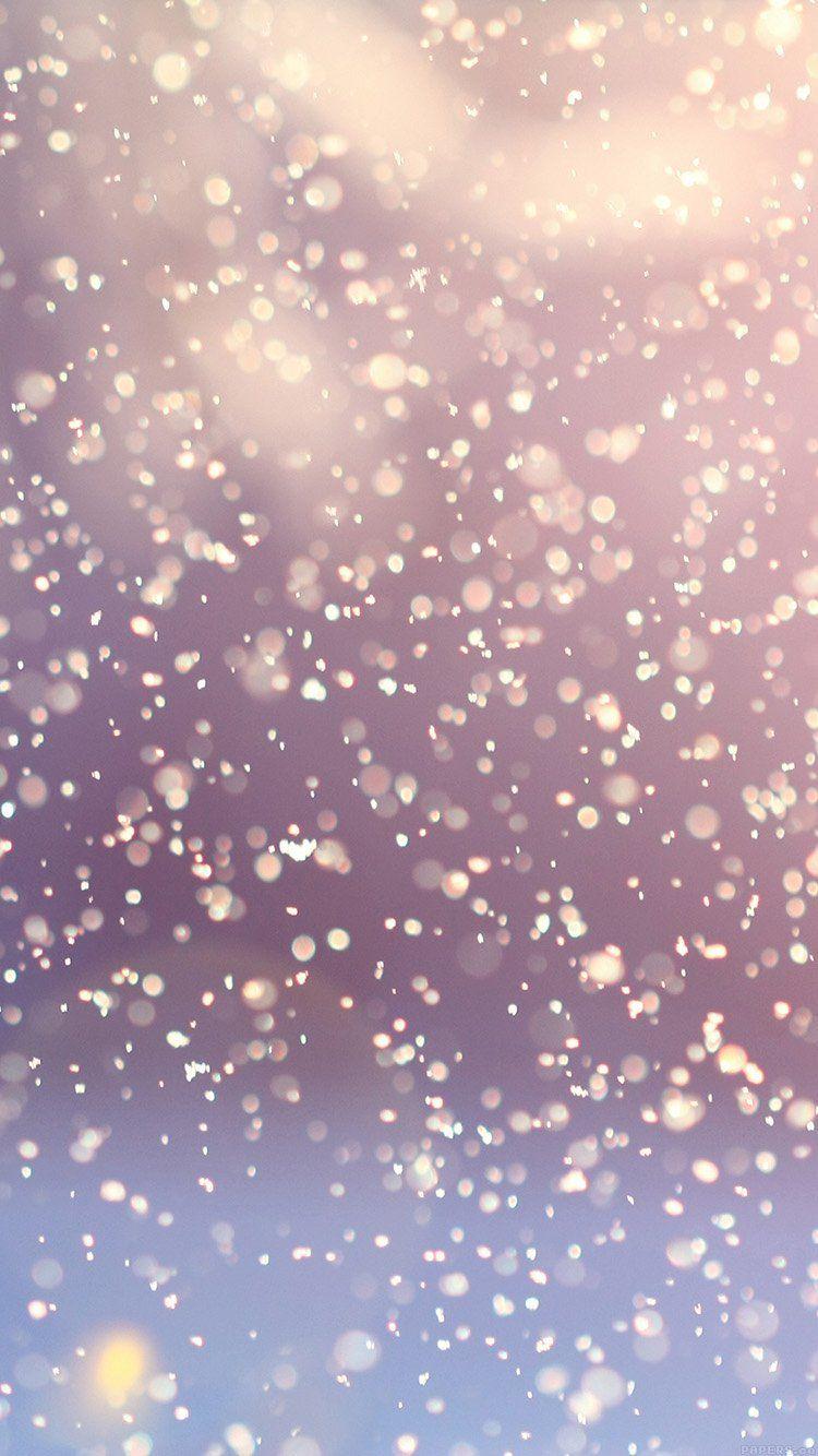 Papersco Vi63 Bokeh Snow Flare Water Splash Pattern 33 Iphone6