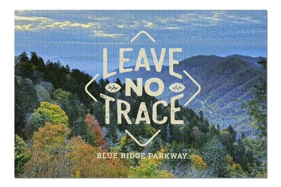 Blue Ridge Parkway - Leave No Trace 102793 (20x30 Premium 1000 Piece Jigsaw Puzzle, Made in USA!)