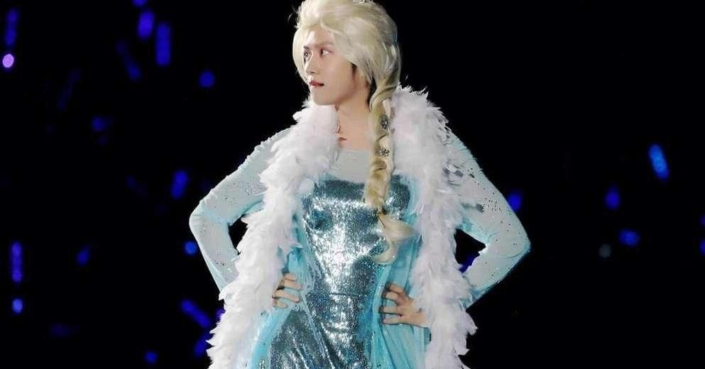 Male Kpop Idols Dressed Like Girls Idol Kpop Idol Pageant Dresses