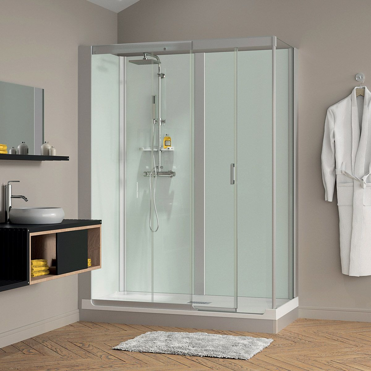How To Retile A Shower Enclosure
