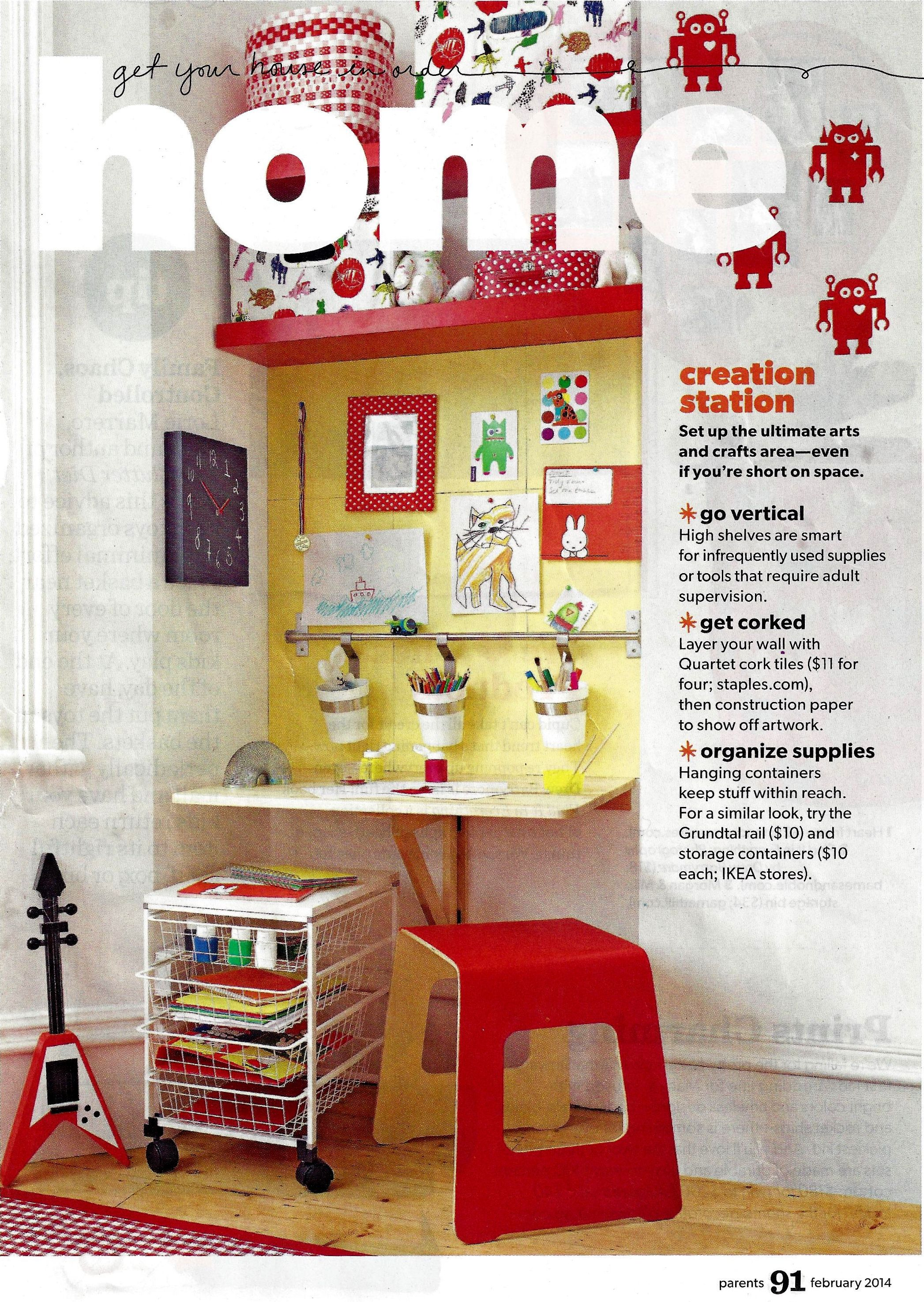 from parent magazine february 2014 issue i love this idea for d s