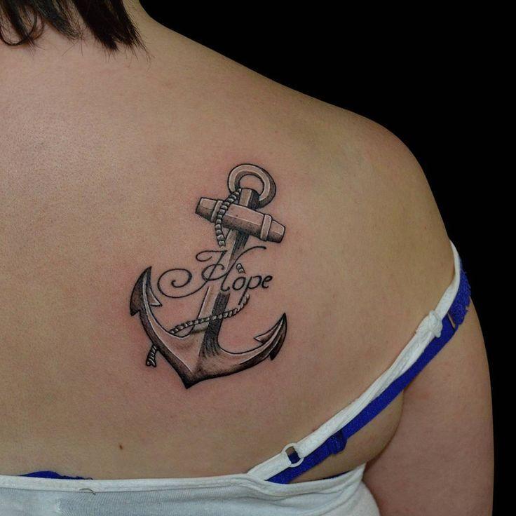 Ankertattoo - Tattoos (mit Bildern) | Kleine anker