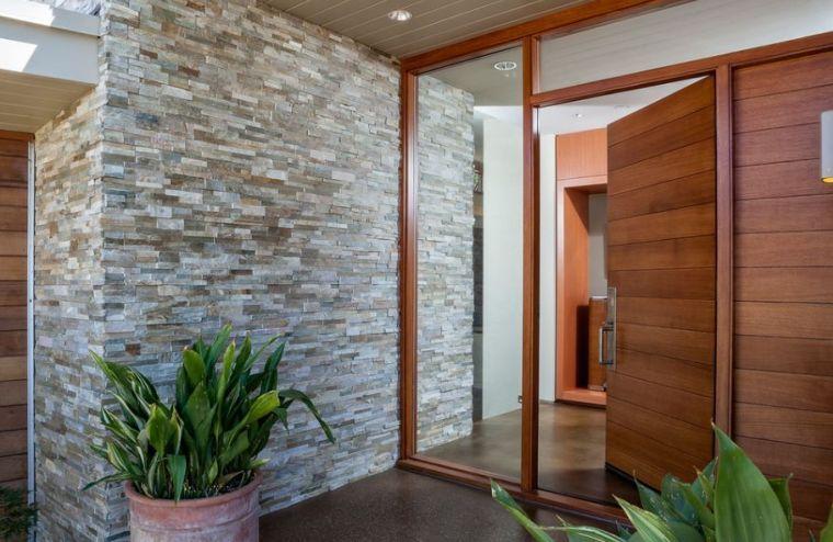 Aménager une entrée de maison moderne Front doors, Doors and Flower