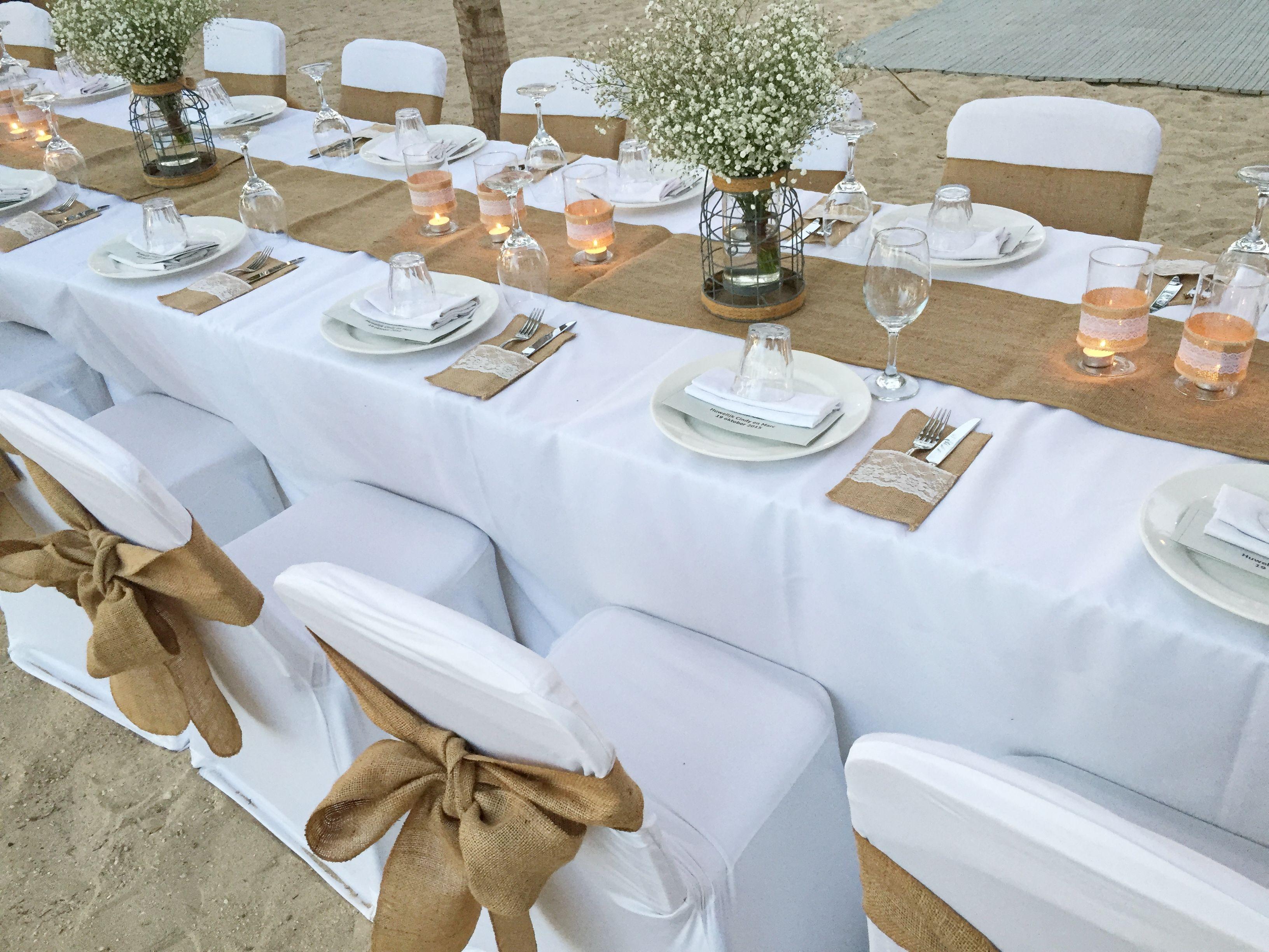 Tafel decoratie mogelijkheden bruiloft curacao bankasa weddings pinterest bruiloft - Decoratie tafel basse ...