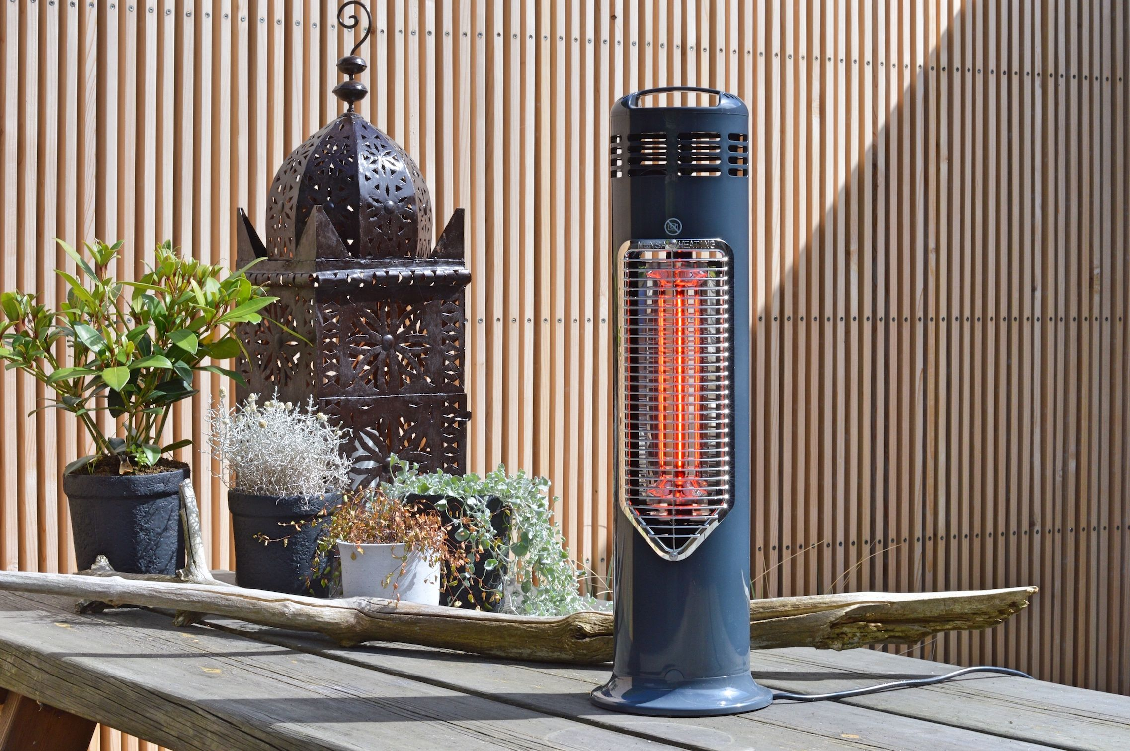 Outdoor Table Heating Safe To Touch Patio Heater Danish Design Imus Patio Heater Outdoor Heating Outdoor Heating Outdoor Heaters Outdoor Kitchen Design