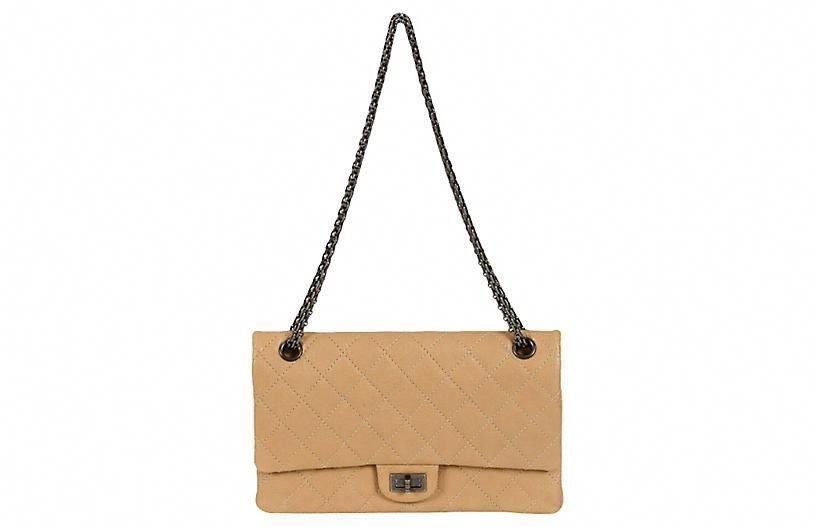 347a0303bb11 Chanel Beige Caviar Jumbo Bag - Vintage Lux  Chanelhandbags