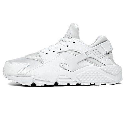 6c3c7816eb3 Nike Air Huarache Run Womens 634835-108 White Running Training Shoes Size  7.5