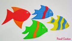 Resultado de imagem para Varios tipos de peixinhos feito em biscuit