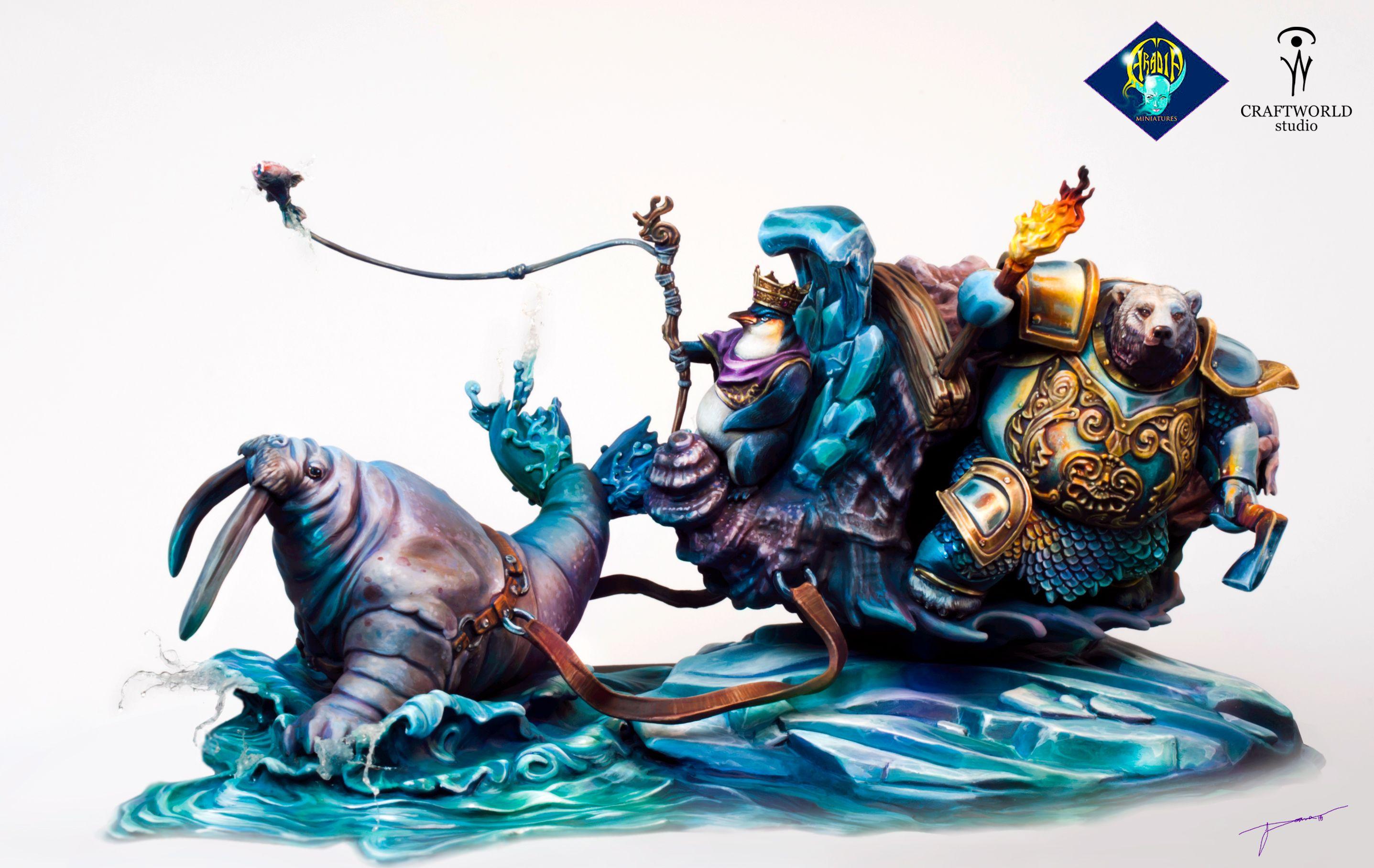 Boxart done for Aradia Miniatures by Aleksandra Cvetanovski