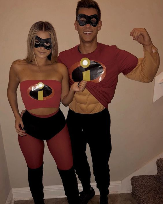 Festa Halloween Disney 2020 90+ DIY Couples Halloween Costumes that'll make you want to find
