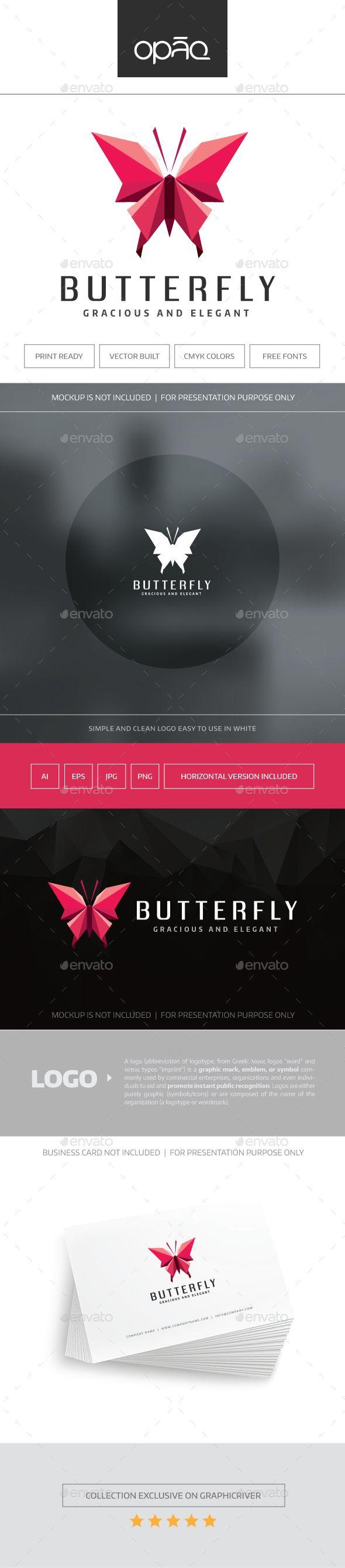 Butterfly Logo   Pinterest   Inspiración