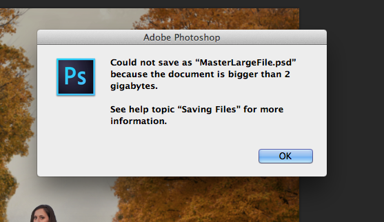 I Worked All Day On A Composite And Now Photoshop Says My File Is Too Big To Save Heelp Photoshop Photoshop Tutorial Save