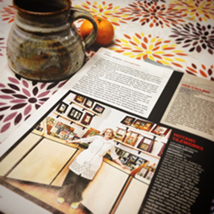 Enjoying an afternoon coffee break checking out our latest feature in #forbes magazine!