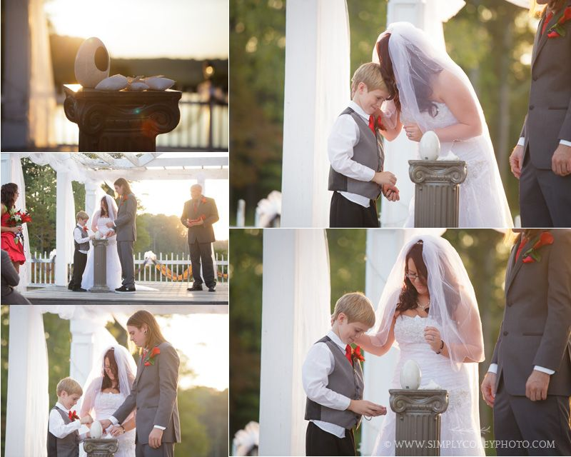 Salt Covenant During A Wedding Ceremony By Douglasville Photographer Simply Corey Photography