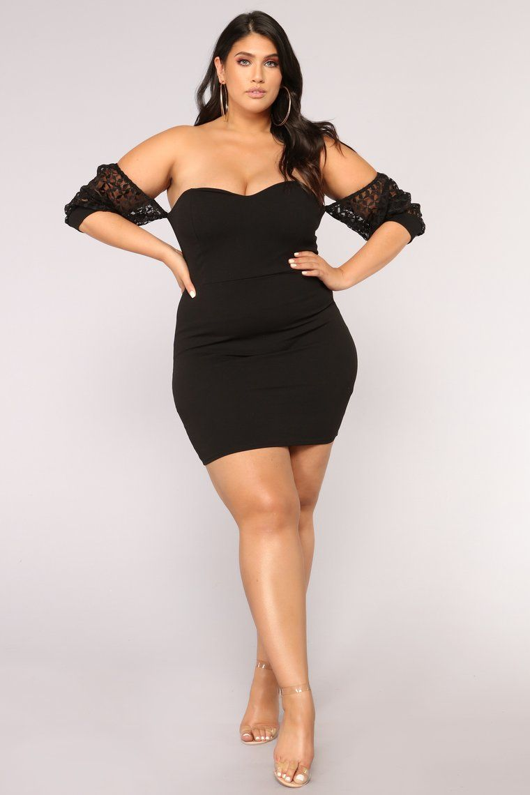 Luck Be A Lady Dress - Black   Plus size in 2019   Fashion ...