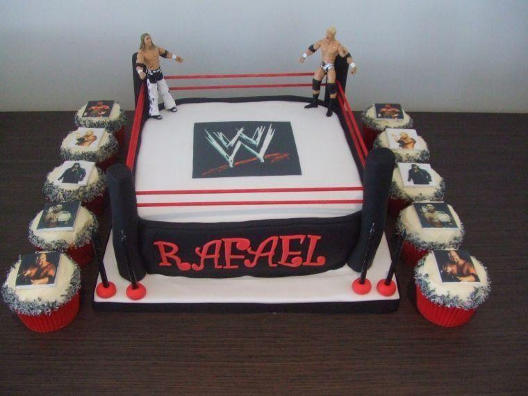 Wwe Birthday Cake Wwe Nation Pinterest Wwe Birthday Cakes Wwe
