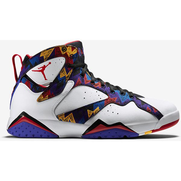 Air Jordan 7 Retro Men's Shoe. Nike.com ($190) ❤ liked on ...