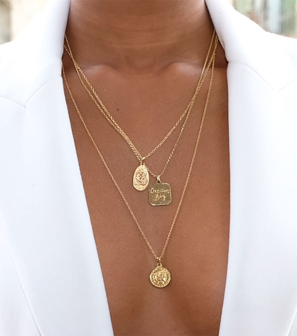 Dream Big🌹   Necklace, Jewelry, Gold necklace
