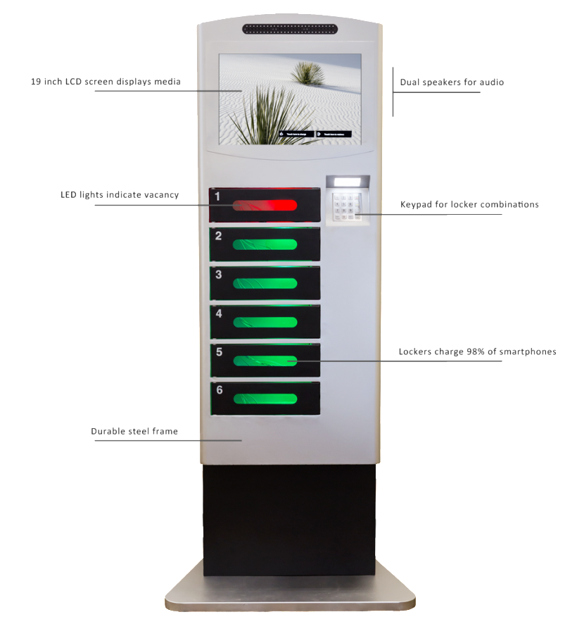 Velocity Rent Or Buy Cell Phone Charging Stations For Any Venue.
